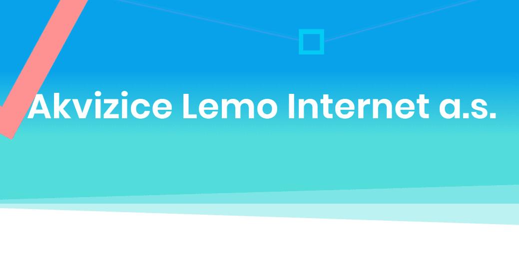 Akvizice Lemo internet