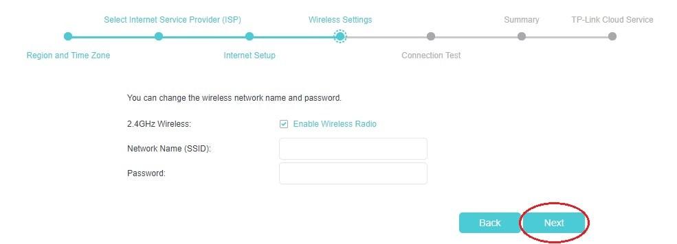 Nastavení Wi-Fi u modemů TP-Link