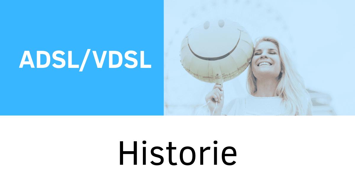 Historie ADSL